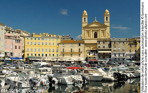 Photo vieux port bastia haute corse 2b n51360 - Vieux port bastia ...