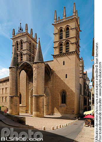 Photo cath drale saint pierre montpellier h rault 34 n37687 - Cathedrale saint pierre de montpellier ...