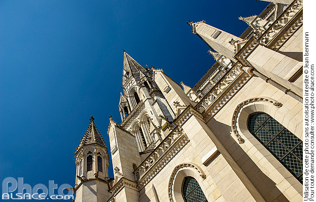 Photo : Basilique Saint-Nicolas de Nantes, Loire-Atlantique (44) - (ref. 180625-043) © Jean Isenmann