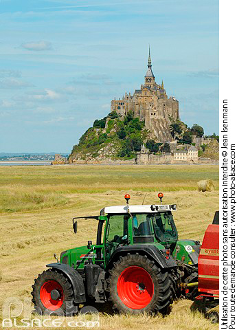 Photo : Le Mont-Saint-Michel, Manche (50) - (ref. n45272) © Jean Isenmann