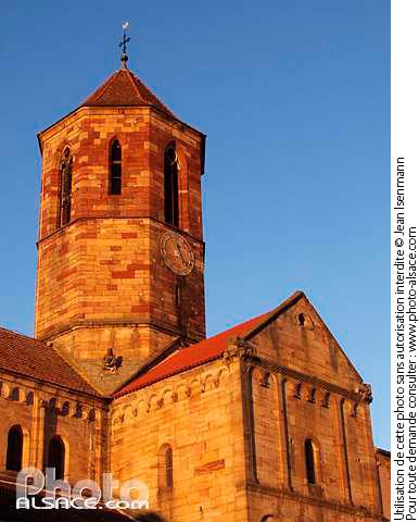 Eglise romane Saint-Pierre et Paul, Rue du General de Gaulle, Rosheim, Bas-Rhin (67)