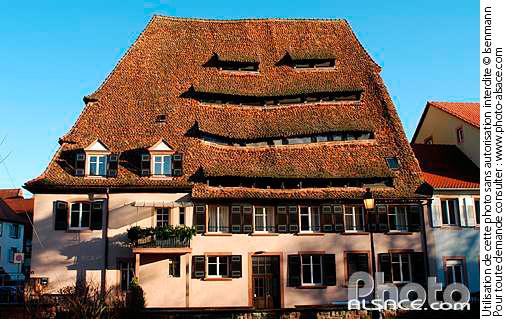 Maison du Sel, Place du March� aux Poissons, Wissembourg, Bas-Rhin (67)