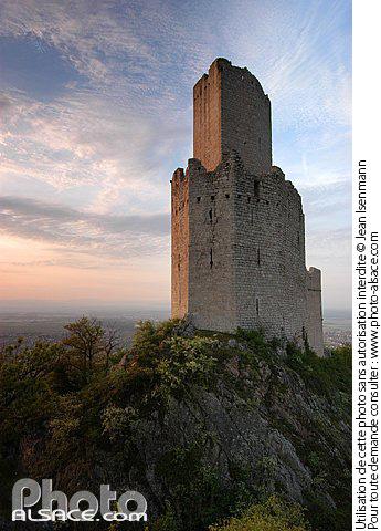 Ch�teau d'Ortenbourg, Scherwiller, Bas-Rhin (67)