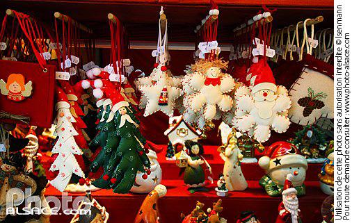 Marche De Noel Strasbourg Vente Decorations