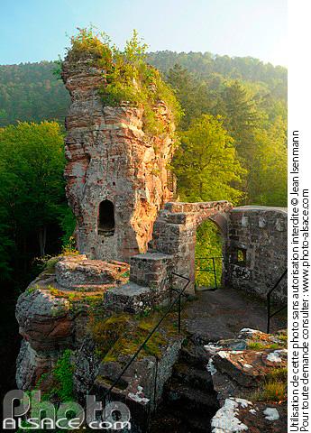 Ch�teau de Froensbourg, Lembach, Parc naturel regional des Vosges du Nord, Bas-Rhin (67)