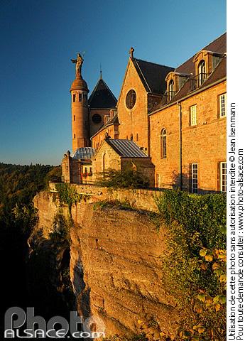 Mont Sainte-Odile, Ottrott, Bas-Rhin (67)