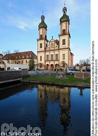 Abbatiale Saint-Maurice, Ebersmunster, Bas-Rhin (67)