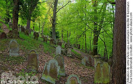 Cimeti�re Juif de Saverne, Bas-Rhin (67)