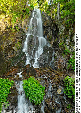 Cascade de l'Andlau (Cascade du Hohwald), Le Hohwald, Bas-Rhin (67)
