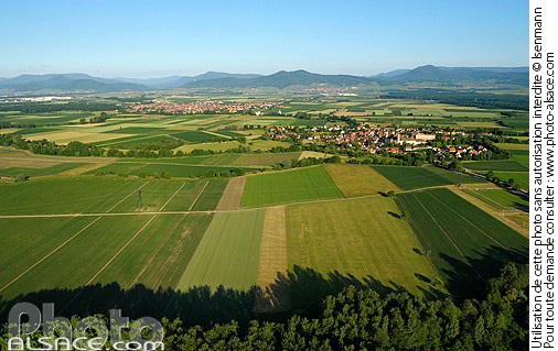 Photo ebersmunster la plaine d 39 alsace et les vosges - Comptoir agricole bas rhin ...