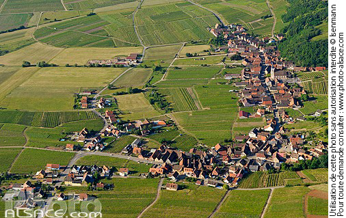 Photo : Village et vignoble de Nothalten, Bas-Rhin (67) - (ref. n56882) © Jean Isenmann