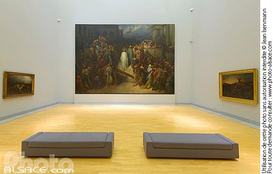 Photo le christ quittant le pr toire gustave dor mus e d 39 art moderne et contemporain de - Musee art moderne strasbourg ...