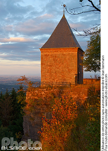 Photo : Chapelle des Anges, Mont Sainte-Odile, Ottrott, Bas-Rhin (67) - (ref. 150927-025) © Jean Isenmann