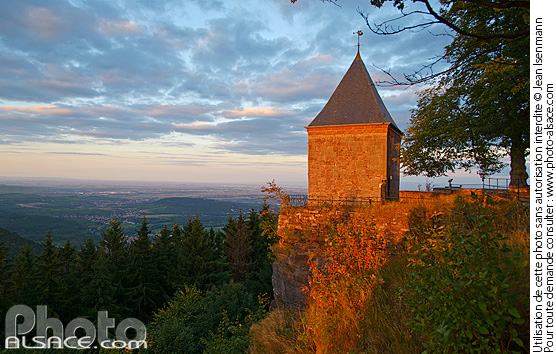 Photo : Chapelle des Anges, Mont Sainte-Odile, Ottrott, Bas-Rhin (67) - (ref. 150927-026) © Jean Isenmann
