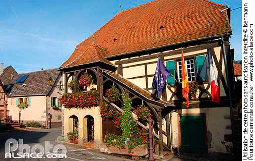 Maison alsacienne, Niedermorschwihr, Haut-Rhin (68)