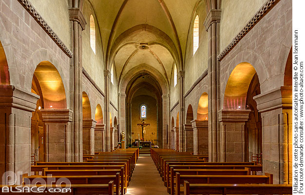 Photo : Eglise Saint-Pierre-et-Saint-Paul, Sigolsheim, Haut-Rhin (68) - (ref. 190517-100) © Jean Isenmann