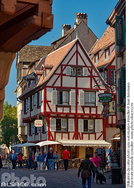 Photo maison alsacienne zum k bler restaurant au fer - Fer rouge colmar ...