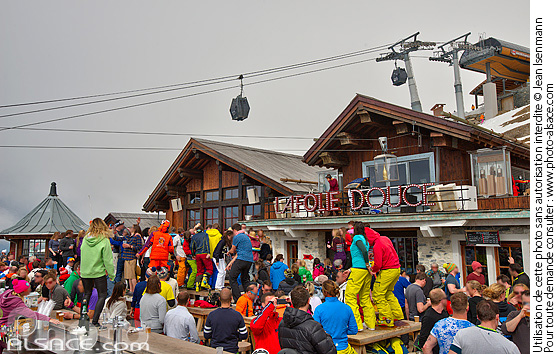 Photo : La Folie Douce Méribel-Courchevel, Méribel, Les Allues, Savoie (73) - (ref. 160407-115) © Jean Isenmann