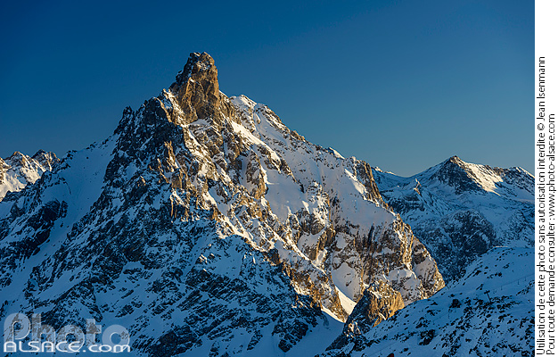Photo : L'Aiguille du Fruit, Courchevel, Saint-Bon-Tarentaise, Savoie (73) - (ref. 170124-120) © Jean Isenmann