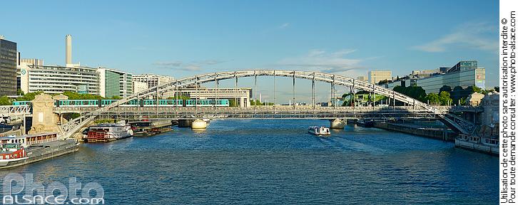 La Seine et le Viaduc d'Austerlitz, Paris (75012)