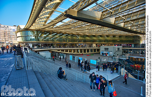 Photo : Canopée des Halles, Paris (75001) - (ref. 161217-057) © Jean Isenmann