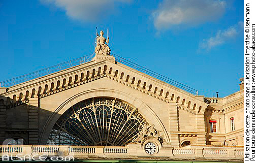 Photo : Gare de l'Est, Paris (75) - (ref. n36010) © Jean Isenmann