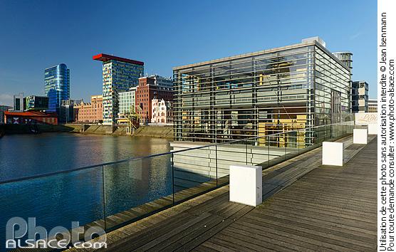 Medienhafen, D�sseldorf, Nordrhein-Westfalen, Allemagne