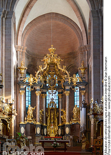 Photo : Dom St. Peter (Cathédrale Saint-Pierre), Worms, Rheinland-Pfalz, Allemagne - (ref. n73457) © Jean Isenmann
