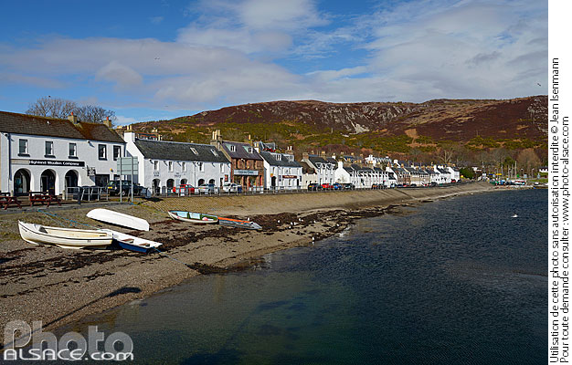 Photo : Ullapool, Wester Ross, Highlands, Scotland, United Kingdom - (ref. n69440) © Jean Isenmann
