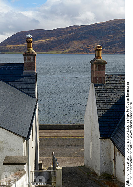 Photo : Ullapool, Wester Ross, Highlands, Scotland, United Kingdom - (ref. n69449) © Jean Isenmann