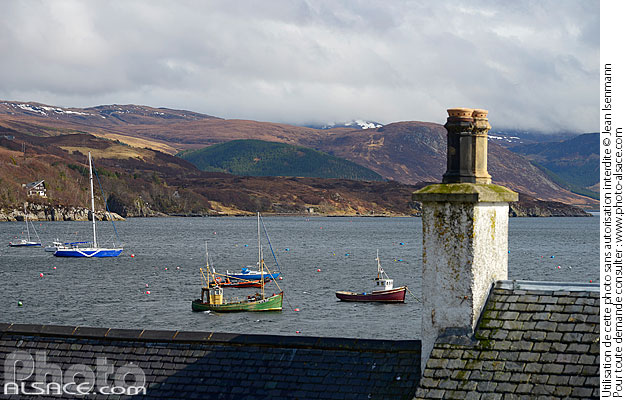 Photo : Ullapool, Wester Ross, Highlands, Scotland, United Kingdom - (ref. n69450) © Jean Isenmann