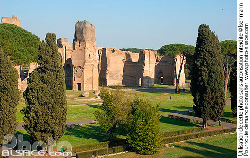 Photo : Terme di Caracalla (Thermes de Caracalla), Roma, Latium, Italie - (ref. n356911) © Jean Isenmann