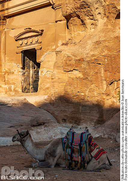 Photo : Siq al-Barid (Little Petra), Ma'an, Jordanie - (ref. 191029-003) © Jean Isenmann