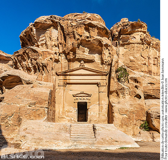 Photo : Siq al-Barid (Little Petra), Ma'an, Jordanie - (ref. 191029-047) © Jean Isenmann