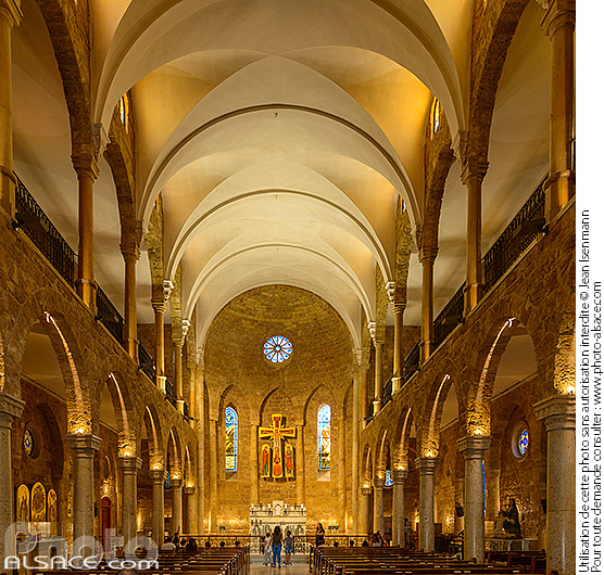 Photo : Eglise Maronite de Saint-Elie, Centre-Ville de Beyrouth, Liban - (ref. 180504-019) © Jean Isenmann