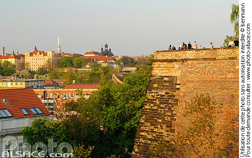 Photo : Citadelle de Vysehrad, Prague, République tchèque - (ref. n56011) © Jean Isenmann