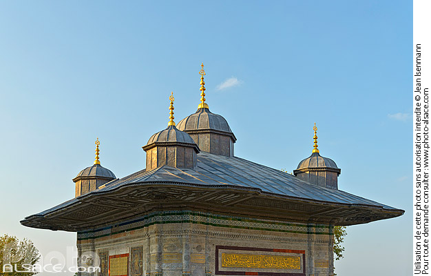 Photo : Fontaine d'Ahmed III, Fatih, Istanbul, Turquie - (ref. 180903-027) © Jean Isenmann