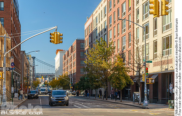 Photo : Kent Avenue, Williamsburg, Brooklyn, New York, Etats-Unis - (ref. 171028-067) © Jean Isenmann