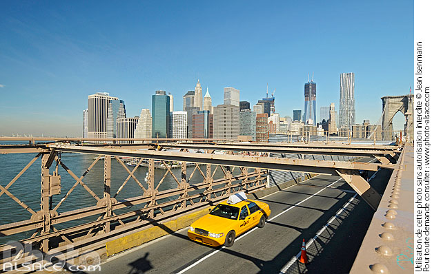 Photo : Brooklyn Bridge, Manhattan, New-York, Etats-Unis - (ref. n61988) © Jean Isenmann