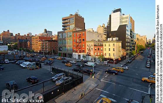 Photo : 10th Avenue, Chelsea, Manhattan, New York, Etats-Unis - (ref. n62359) © Jean Isenmann