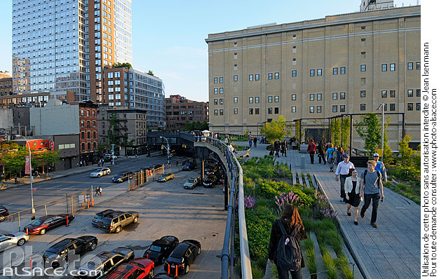 Photo : The High Line, Chelsea, Manhattan, New York, Etats-Unis - (ref. n62361) © Jean Isenmann