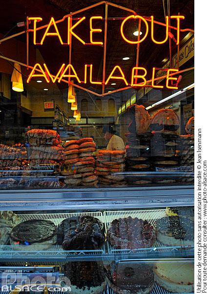 N62403 : breakfast diner, manhattan, new york, etats-unis