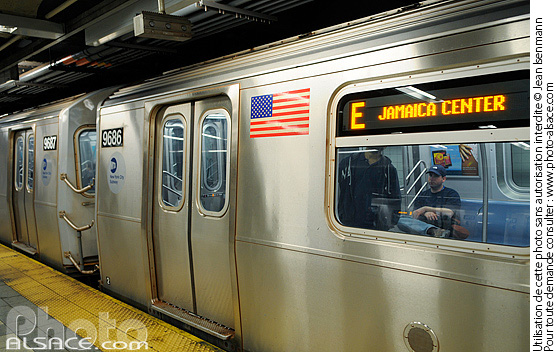 Photo : Station métro Canal Street, Manhattan, New York, Etats-Unis - (ref. n62752) © Jean Isenmann