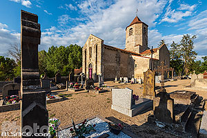 Eglise Saint-Martial, Seuillet, Allier (03)