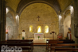 Photo : Eglise romane de La Grave, Oisans, Hautes-Alpes (05)