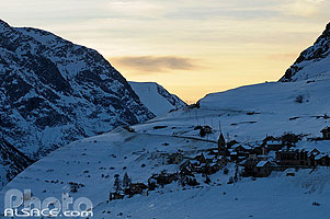 Photo : Les Terrasses, La Grave, Oisans, Parc Nationale des Ecrins, Hautes-Alpes (05)