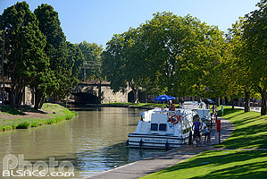 Photo : Canal du Midi, Carcassonne, Aude (11)