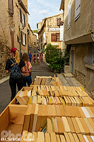 Photo : Montolieu village du livre, Aude (11)