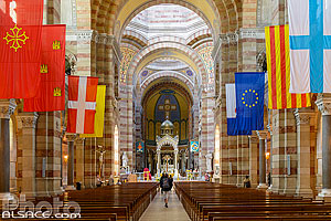 Photo : Cathédrale La Major, Marseille, Bouche-du-Rhône (13), Provence-Alpes-Côte-d'Azur, France