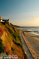 Photo : Plage de Villerville, Calvados (14), Basse-Normandie, France